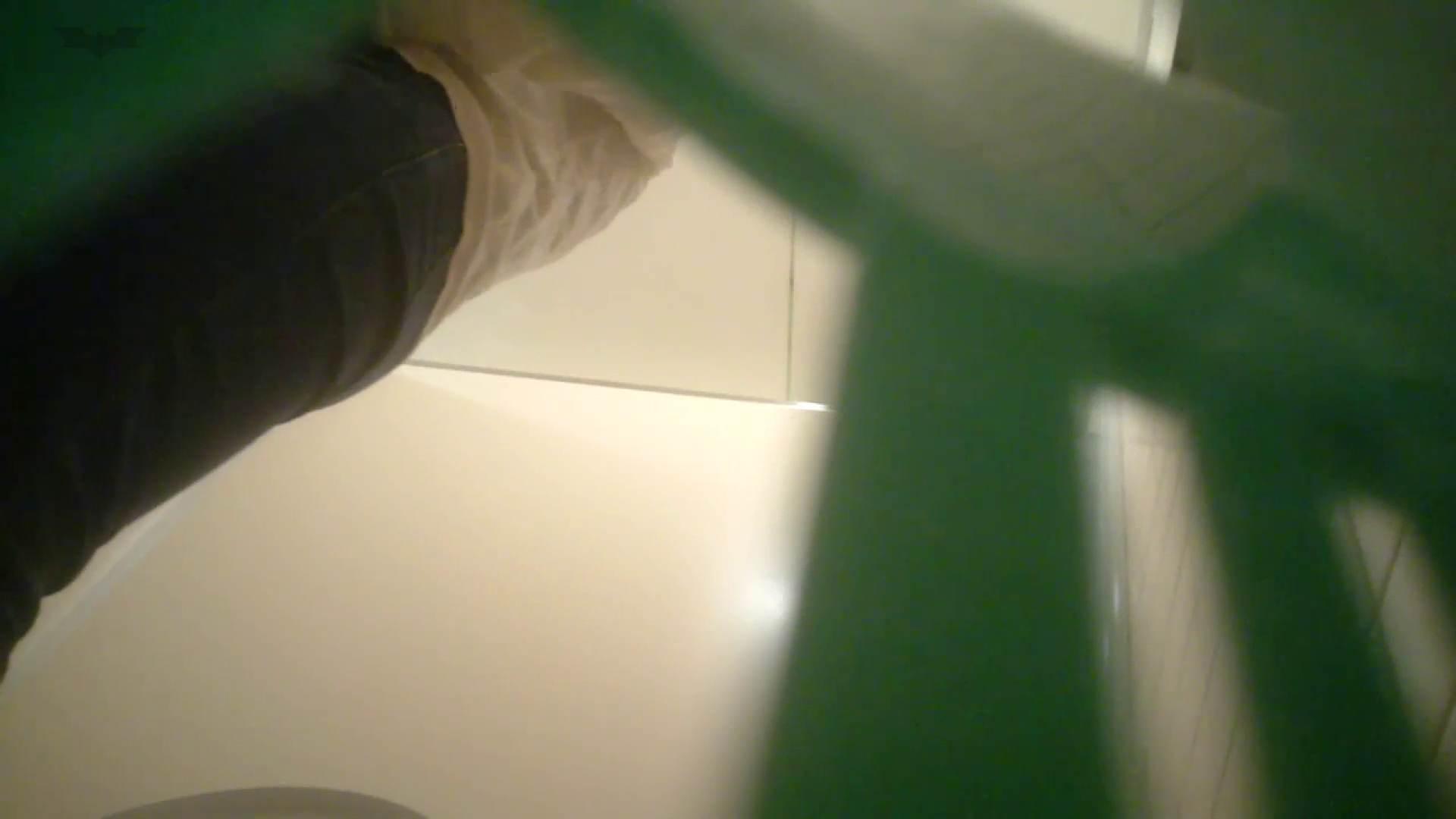 おまんこ:有名大学女性洗面所 Vol.52 ストッキングの最後の「くいっ!」がたまりません:怪盗ジョーカー