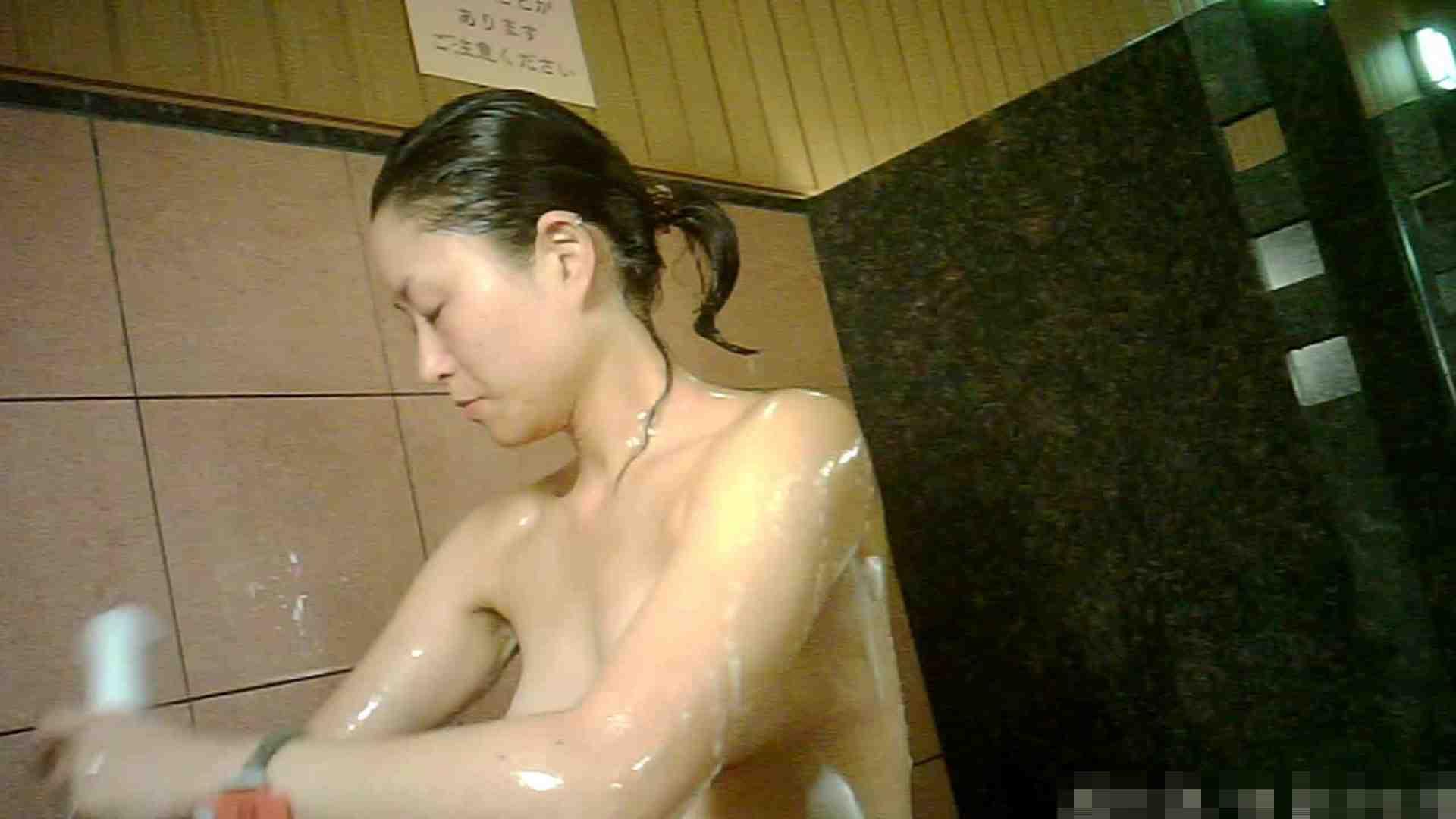 おまんこ:No.1 洗い場!!とっても綺麗な身体のお女市さん、乳首も綺麗です。:怪盗ジョーカー