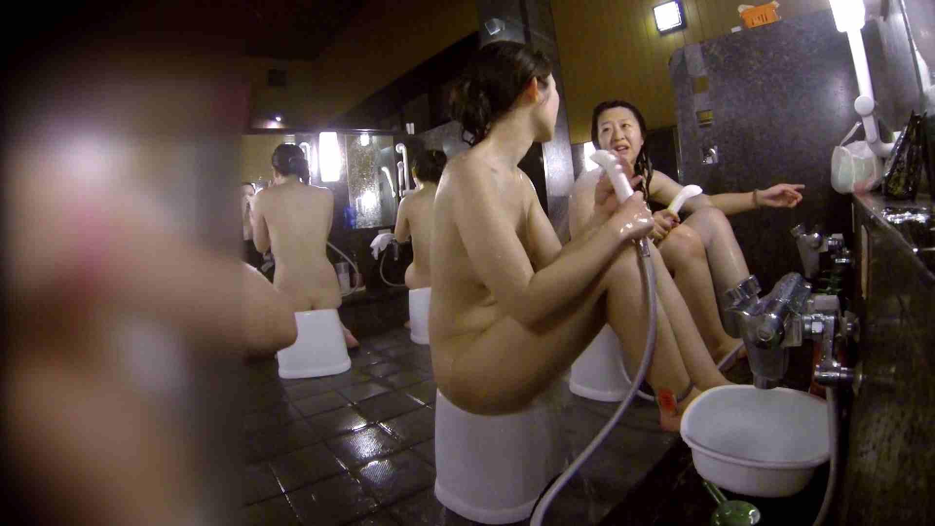 おまんこ:洗い場!地味目の女の子2人組。ずっと話しながら洗ってます。:怪盗ジョーカー
