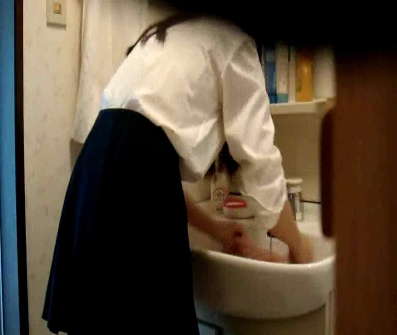 二人とも育てた甲斐がありました… vol.05 まどかが洗顔後にブラを洗濯 HなOL | 0  98pic 8