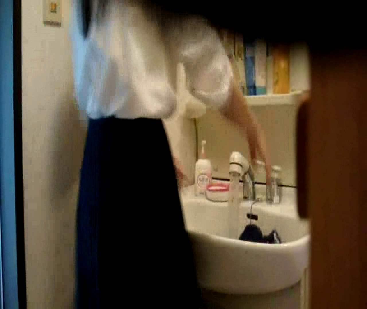 二人とも育てた甲斐がありました… vol.05 まどかが洗顔後にブラを洗濯 HなOL | 0  98pic 20