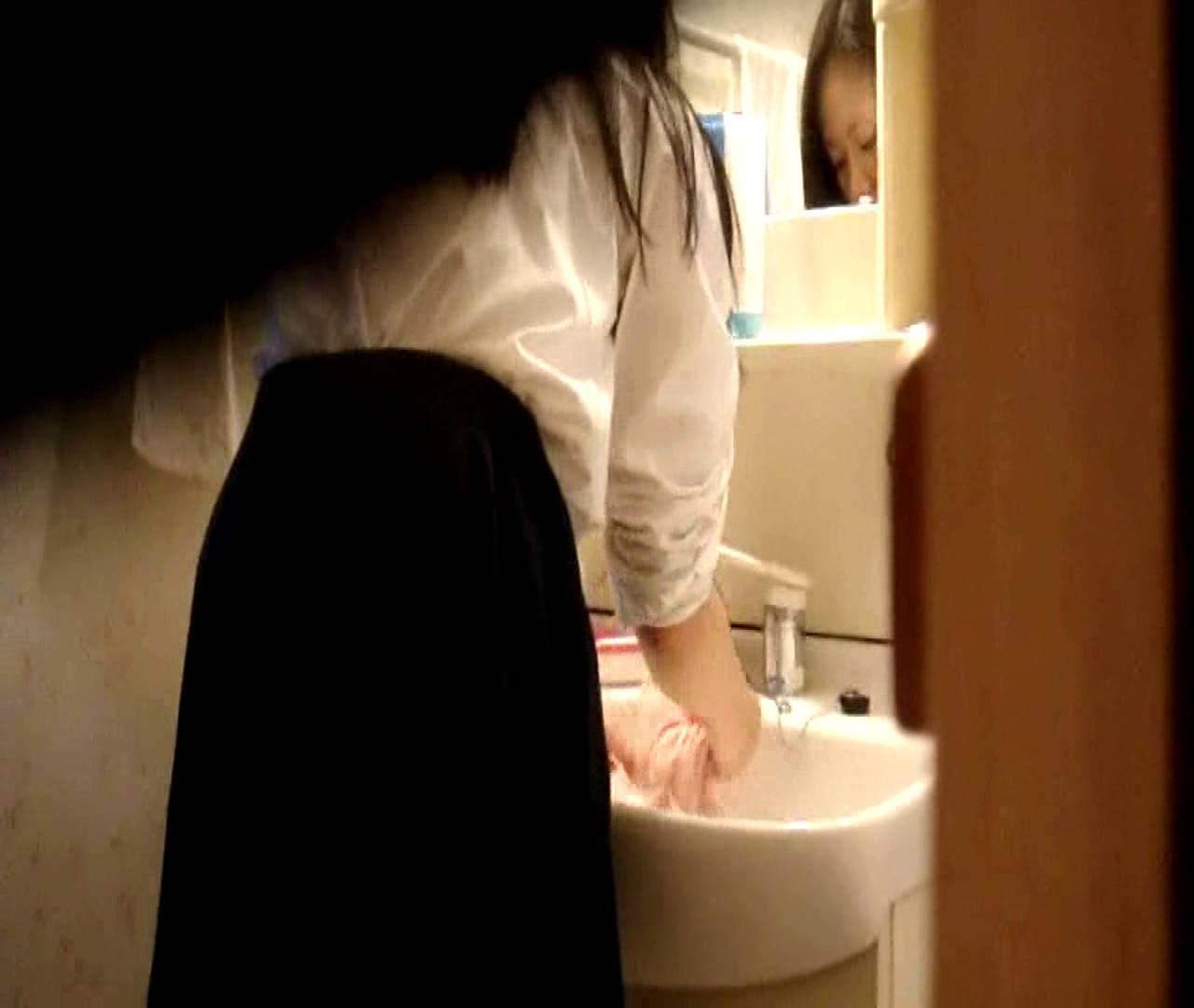 二人とも育てた甲斐がありました… vol.05 まどかが洗顔後にブラを洗濯 HなOL | 0  98pic 66