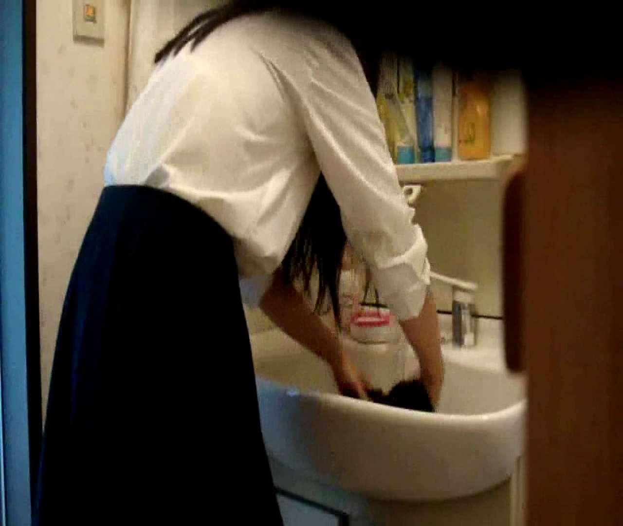 二人とも育てた甲斐がありました… vol.05 まどかが洗顔後にブラを洗濯 HなOL | 0  98pic 86