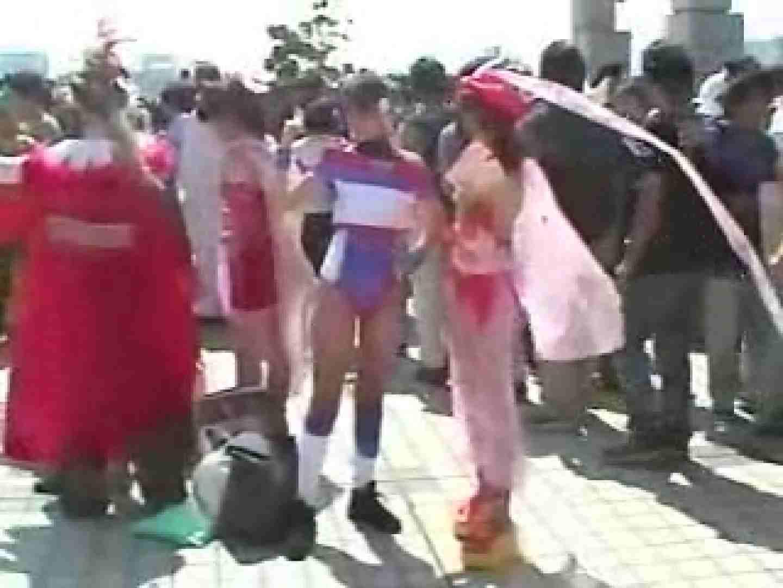 コスプレ会場 赤外線カメラで透け下着を見る マンコ   下着  104pic 2
