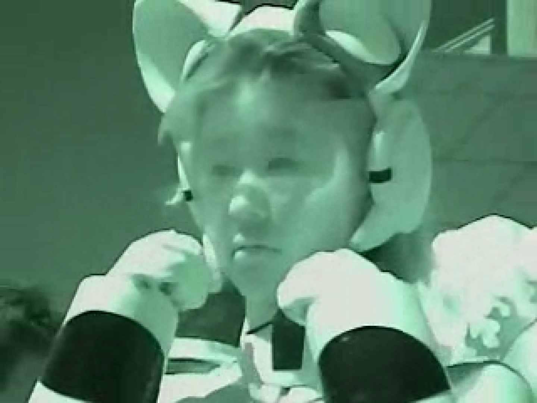 コスプレ会場 赤外線カメラで透け下着を見る マンコ   下着  104pic 66