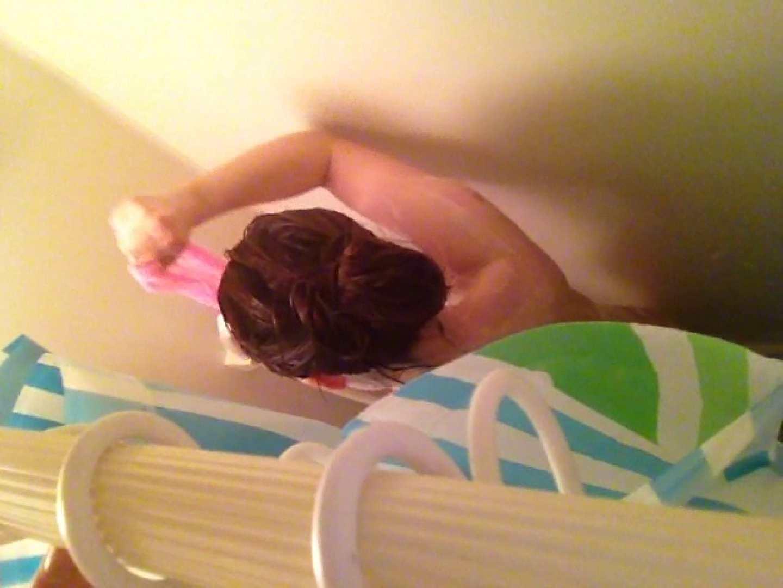 11(11日目)上からシャワー中の彼女を覗き見 シャワー | 覗き  101pic 11