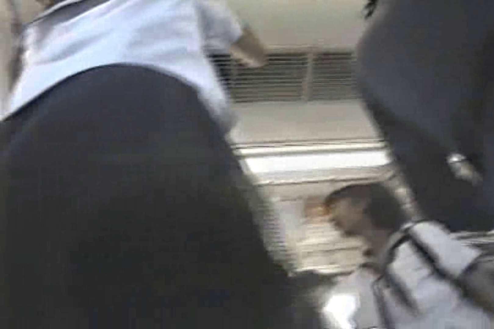 おまんこ:盗撮 女子大生のパンツを見るなら車内が一番 TK-129:ピープフォックス(盗撮狐)
