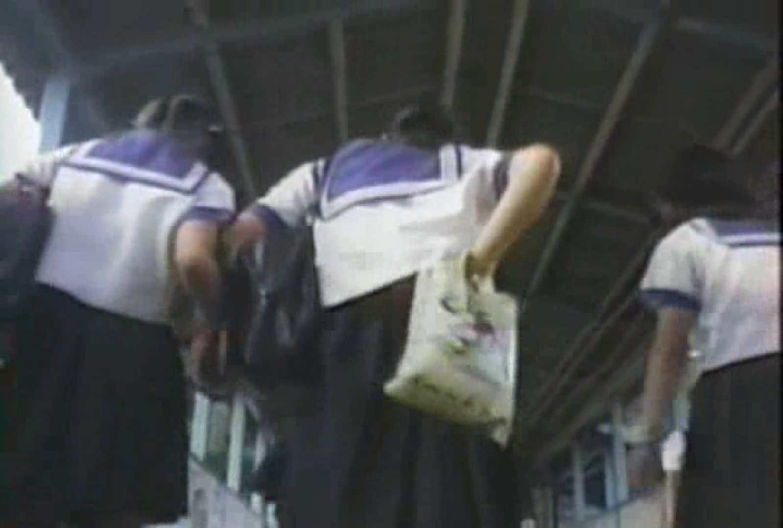 おまんこ:聖服女の純白木綿パンツde GO!sty-027:ピープフォックス(盗撮狐)